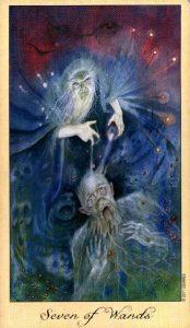 7 Жезлов Таро Призраков и Духов Ghosts & Spirits Tarot