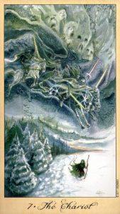 7 Колесница Таро Призраков и Духов Ghosts & Spirits Tarot