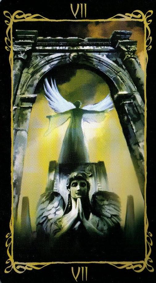 7 Колесница Таро Темных Ангелов