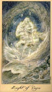8 Кубков Таро Призраков и Духов Ghosts & Spirits Tarot