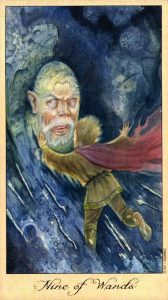 9 Жезлов Таро Призраков и Духов Ghosts & Spirits Tarot
