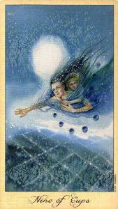 9 Кубков Таро Призраков и Духов Ghosts & Spirits Tarot