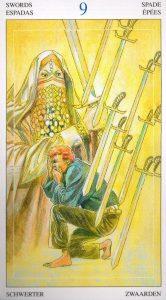9 Мечей Таро Мир Духов Tarot of the Spirit World