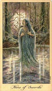 9 Мечей Таро Призраков и Духов Ghosts & Spirits Tarot