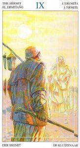9 Отшельник Таро Мир Духов Tarot of the Spirit World