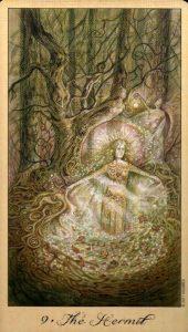 9 Отшельник Таро Призраков и Духов Ghosts & Spirits Tarot