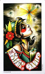 17 Аркан Звезда Eight Coins Tattoo Tarot