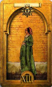 Госпожа (Дама) Солнц Утраченное Таро Нострадамуса