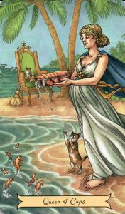 Королева Кубков Everyday Witch Tarot