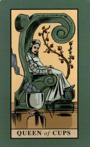 Королева Кубков The English Magic Tarot Таро Английской Магии