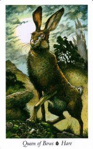 Королева Луков Таро Дикого Леса - The Wildwood Taro