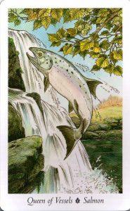 Королева Сосудов Таро Дикого Леса - The Wildwood Taro