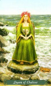 Королева Чаш The Green Witch Tarot (Таро Зеленой Ведьмы)