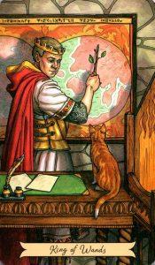 Король Жезлов Everyday Witch Tarot