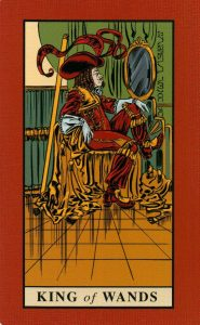 Король Жезлов The English Magic Tarot Таро Английской Магии
