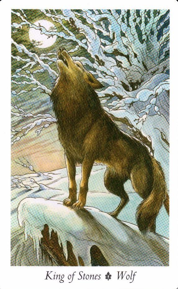 Король Камней Таро Дикого Леса - The Wildwood Taro