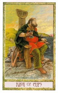 Король Кубков Таро Друидов The Druid Craft Tarot