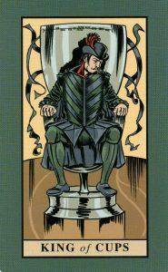Король Кубков The English Magic Tarot Таро Английской Магии