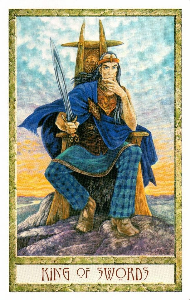 Король Мечей Таро Друидов The Druid Craft Tarot