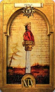 Принц (Князь) Солнц Утраченное Таро Нострадамуса
