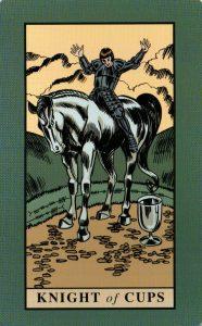 Рыцарь Кубков The English Magic Tarot Таро Английской Магии