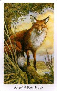 Рыцарь Луков Таро Дикого Леса - The Wildwood Taro