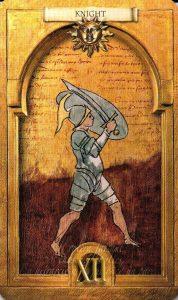 Рыцарь Солнц Утраченное Таро Нострадамуса