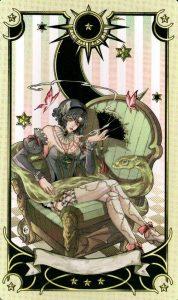 Экстра карта 1 Таро Семи Звезд Mystical Manga Tarot