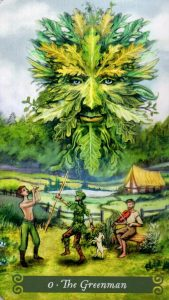 0 Аркан Зеленый Человек The Green Witch Tarot (Таро Зеленой Ведьмы)