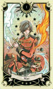 1 Аркан Маг Таро Семи Звезд Mystical Manga Tarot