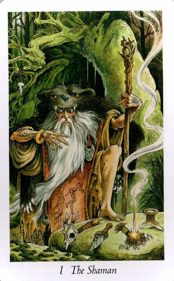 1 Аркан Шаман Таро Дикого Леса - The Wildwood Taro