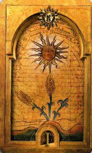 1 Солнц Утраченное Таро Нострадамуса