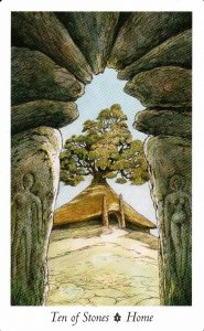 10 Камней Таро Дикого Леса - The Wildwood Taro