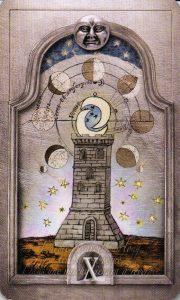 10 Лун Утраченное Таро Нострадамуса