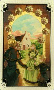10 Монет Таро Семи Звезд Mystical Manga Tarot
