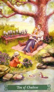 10 Чаш The Green Witch Tarot (Таро Зеленой Ведьмы)