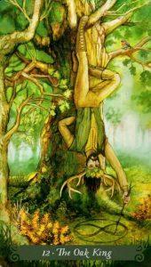 12 Аркан Король Дуба The Green Witch Tarot (Таро Зеленой Ведьмы)