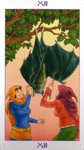 12 Аркан Повешенный Ведьмовское Таро Witchy Tarot
