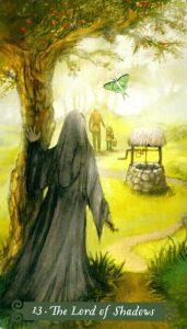13 Аркан Лорд Теней The Green Witch Tarot (Таро Зеленой Ведьмы)