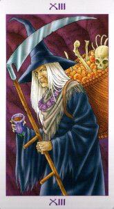 13 Аркан Смерть Ведьмовское Таро Witchy Tarot