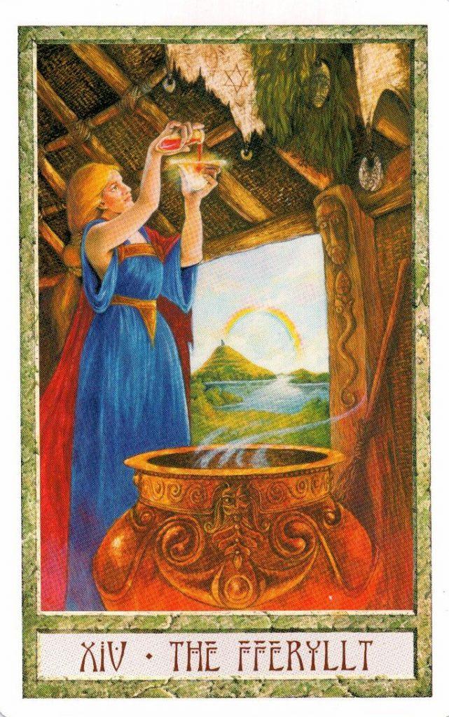 14 Аркан Таро Друидов The Druid Craft Tarot