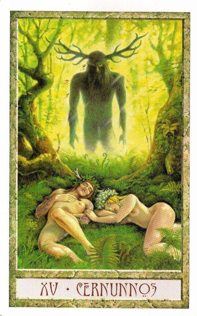 15 Аркан Кернуннос Таро Друидов The Druid Craft Tarot