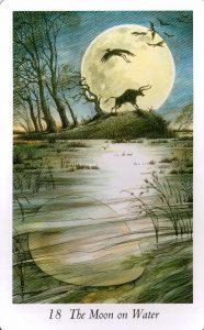 18 Аркан Луна Таро Дикого Леса - The Wildwood Taro