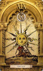 19 Аркан Солнце Утраченное Таро Нострадамуса