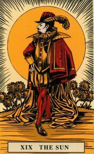 19 Аркан Солнце The English Magic Tarot Таро Английской Магии