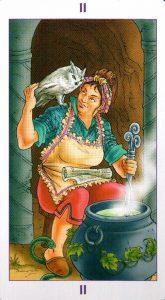 2 Аркан Жрица Ведьмовское Таро Witchy Tarot