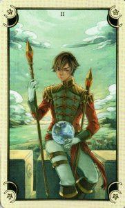 2 Жезлов Таро Семи Звезд Mystical Manga Tarot