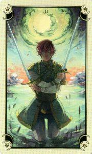 2 Мечей Таро Семи Звезд Mystical Manga Tarot