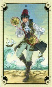 2 Монет Таро Семи Звезд Mystical Manga Tarot