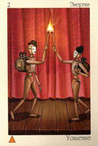 2 Энергии Усиление Таро Театр Кукол